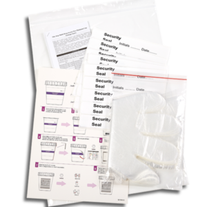 12 Panel CLIA Waived Magenta Tapered Cup Drug Test Kit