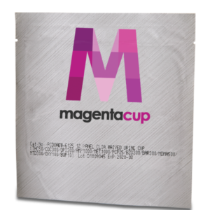 12 Panel CLIA Waived Magenta Tapered Cup Package Drug Test