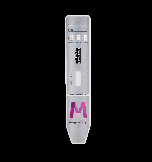 80 Hour ETG Alcohol Magenta Dip Card Drug Test