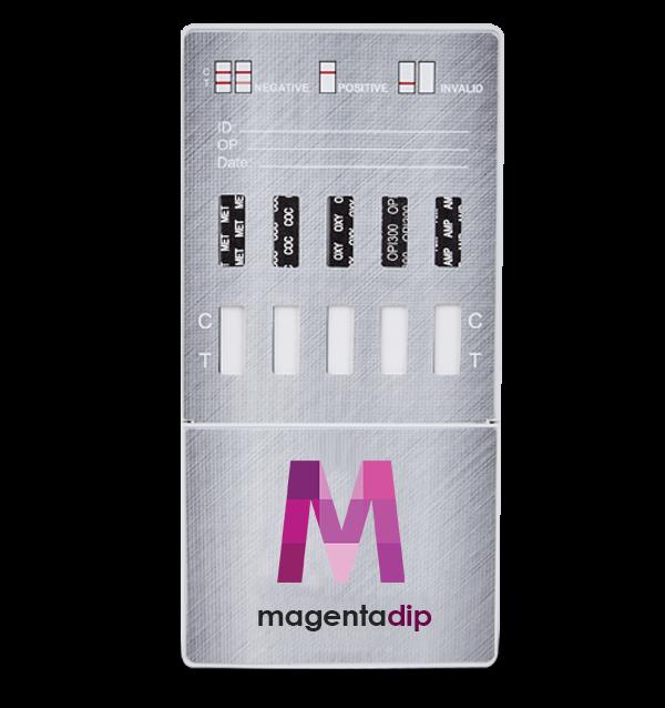 12 Panel CLIA Waived Platinum Dip Card Drug Test